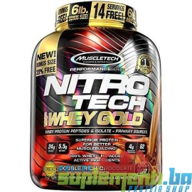 MT NITRO-TECH 100% WHEY GOLD (2,5kg) 83serv.