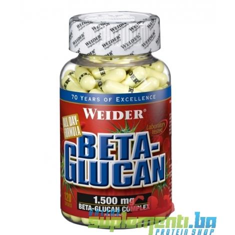 WEIDER BETA-GLUCAN (120kaps.)