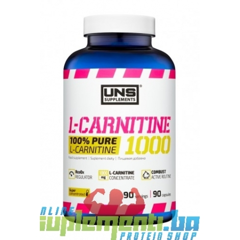 UNS L-CARNITINE 1000mg (90kaps)