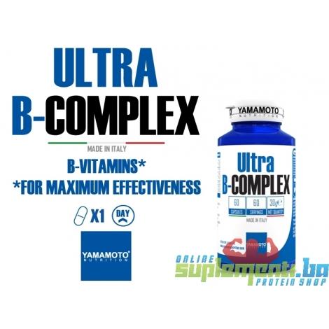 Ultra B-COMPLEX 60 kapsula