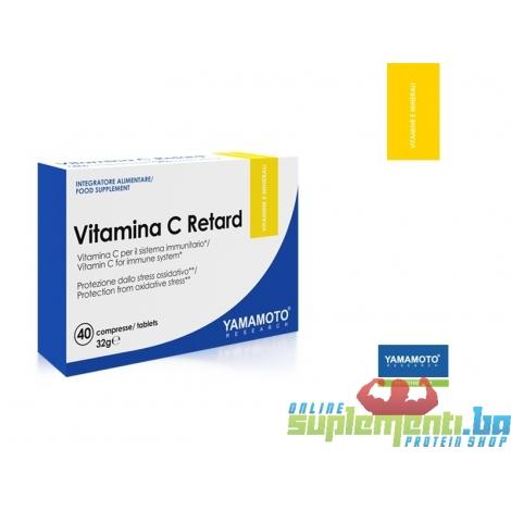 YAMAMOTO Vitamina C Retard (40Tableta)