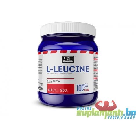 UNS PURE L- LEUCINE 200g(40serv)