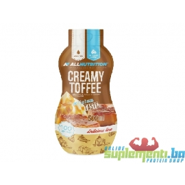 ALL NUTRITION CREAMY TOFFEE 600ml