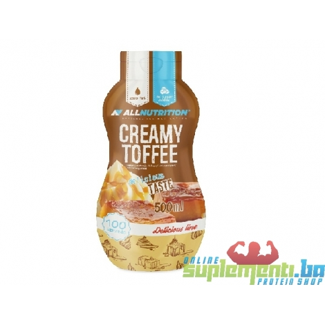 ALL CREAMY TOFFEE 600ml