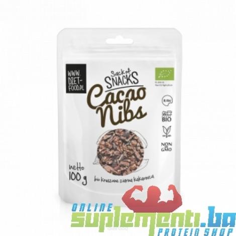 DIET-FOOD CACAO NIBS 100g