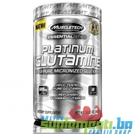 MUSCLETECH PLATINUM GLUTAMINE (300 grama)