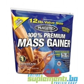MUSCLETECH 100% MASS GAINER (5,5kg)